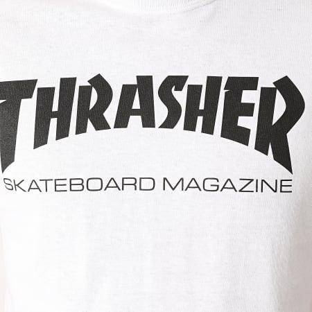 Thrasher - Tee Shirt Skate Mag 110101 Blanc