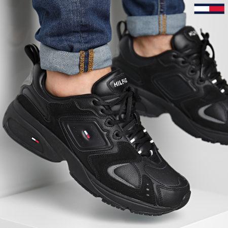 Tommy Jeans - Baskets Heritage Seasonal Sneaker 0587 Black