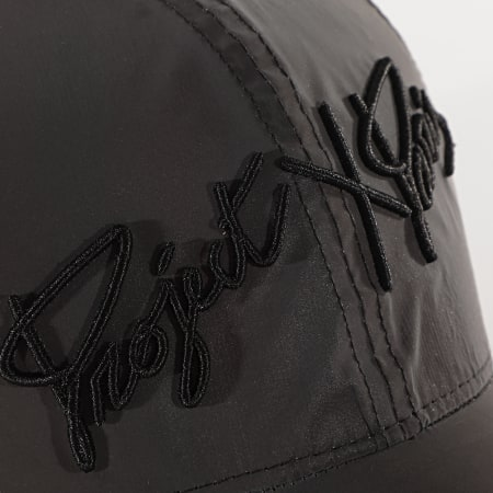 Project X - Casquette CA20013 Gris Anthracite Reflective
