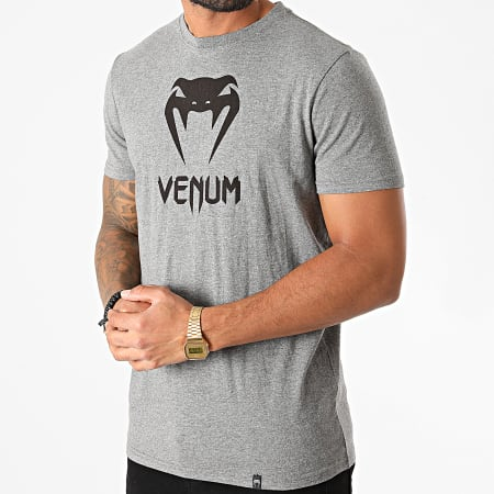 Venum - Tee Shirt Classic Gris Chiné
