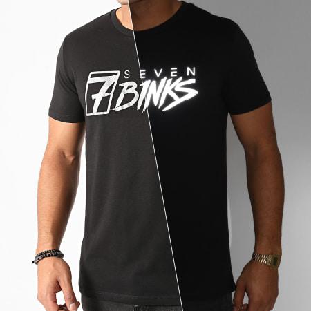 7 Binks - Tee Shirt Vignette Reflective Noir