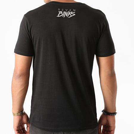 7 Binks - Tee Shirt Logo Reflective Noir