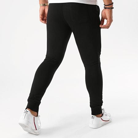 7 Binks - Pantalon Jogging Logo Reflective Noir