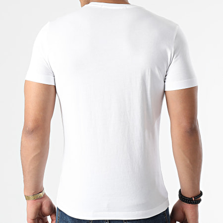 Calvin Klein - Tee Shirt Chest Institutional 7852 Blanc