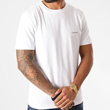 Calvin Klein - Tee Shirt Logo 4062 Blanc