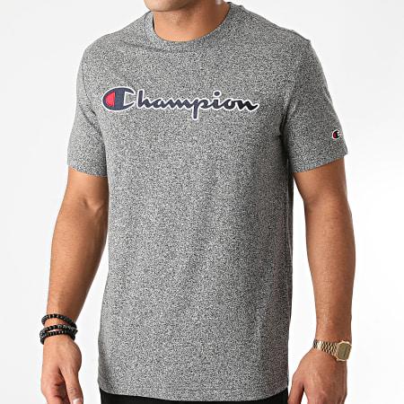 Champion - Tee Shirt 214726 Noir Chiné