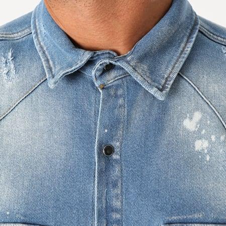 Uniplay - Chemise En Jean 395 Bleu Denim