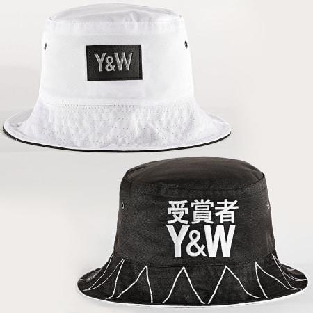 Y et W - Bob Réversible Japan Noir