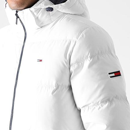 Tommy Jeans - Doudoune Capuche Essential Down 8762 Blanc