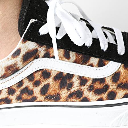 Vans - Baskets Femme Old Skool A4U3B3I6 Leopard Black True White