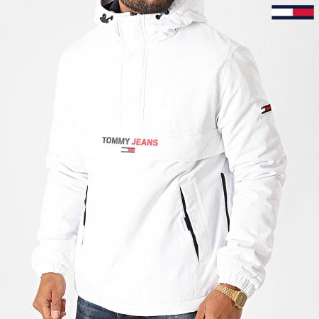 Tommy Jeans - Veste Outdoor Solid Popover 8760 Blanc