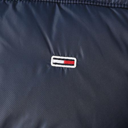 Tommy Jeans - Doudoune Capuche Essential Poly 9385 Bleu Marine