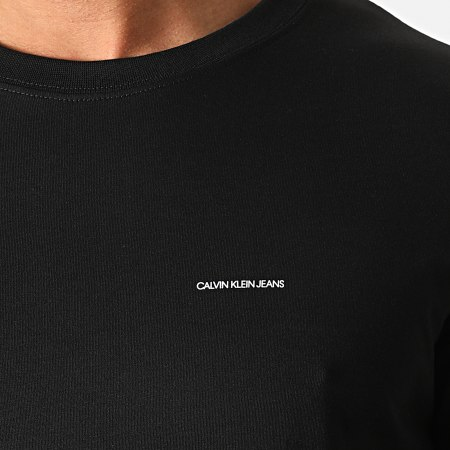 Calvin Klein - Lot De 2 Tee Shirts Institutional 7598 Noir