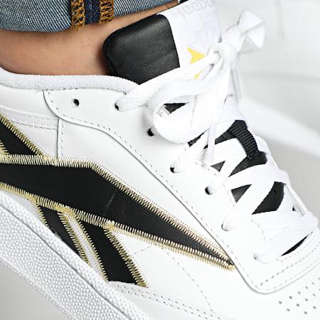 Reebok - Baskets Club C 85 FV6387 White Black Gold
