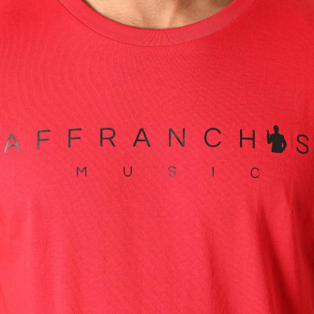 Sofiane - Tee Shirt Affranchis Music Camouflage Rouge
