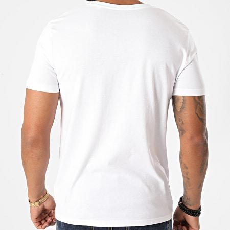 Parental Advisory - Tee Shirt Logo Gradient Blanc Dégradé