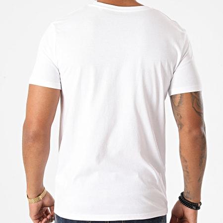 Parental Advisory - Tee Shirt Parental Advisory Splatter Blanc