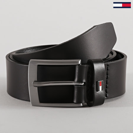 Tommy Hilfiger - Ceinture Adan Leather 6625 Noir