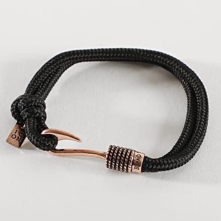 Icon Brand - Bracelet LE1001 Noir