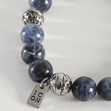 Icon Brand - Bracelet B1146 Bleu Marine
