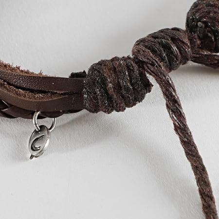 Icon Brand - Bracelet LE1004 Marron