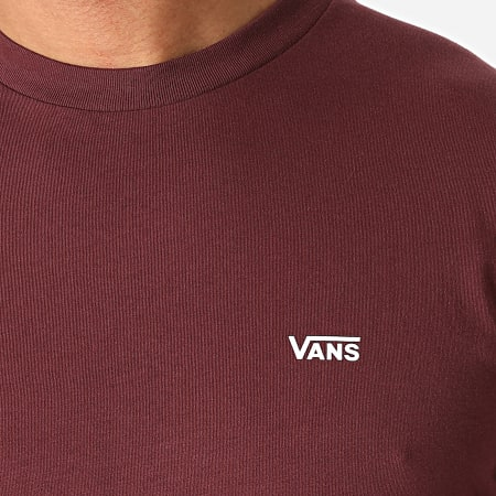 Vans - Tee Shirt Left Chest Logo A3CZEK10 Bordeaux