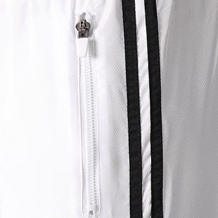 LBO - Pantalon Jogging A Bandes 0007 Blanc