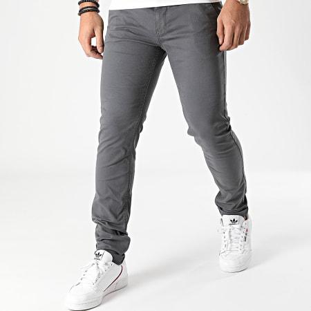 Blend - Pantalon Chino 20703472 Gris Anthracite