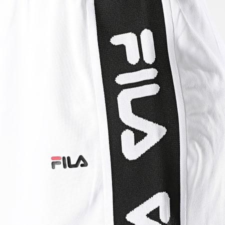 Fila - Jupe Femme A Bandes Talara 687695 Blanc