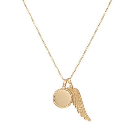 Chained And Able - Pendentif Wing Bunch NB17088 Doré