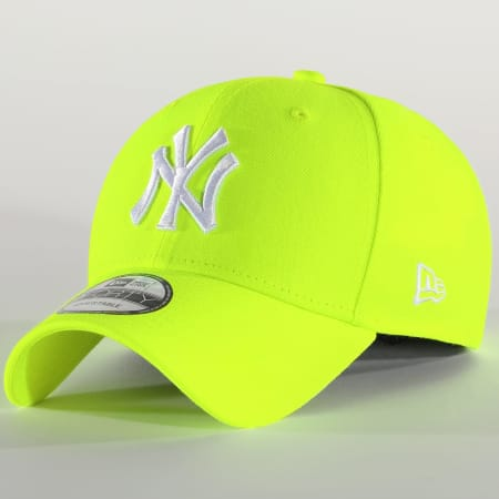 New Era - Casquette 9Forty Neon 12109559 New York Yankees Jaune Fluo