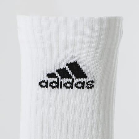 adidas - Lot De 6 Paires De Chaussettes Cush Crw DZ9353 Blanc