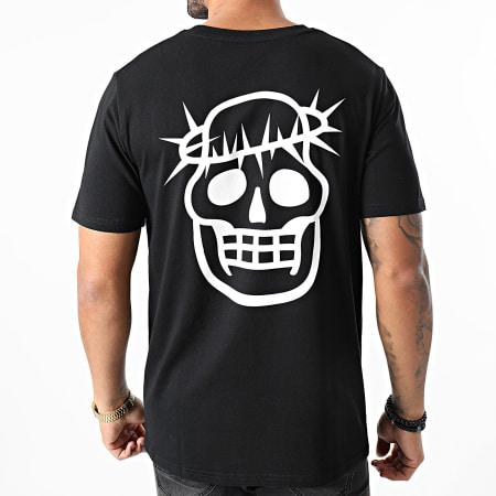 Jeune Riche - Tee Shirt Jesus Noir
