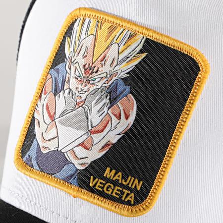 Dragon Ball Z - Casquette Trucker Majin Vegeta Noir Blanc