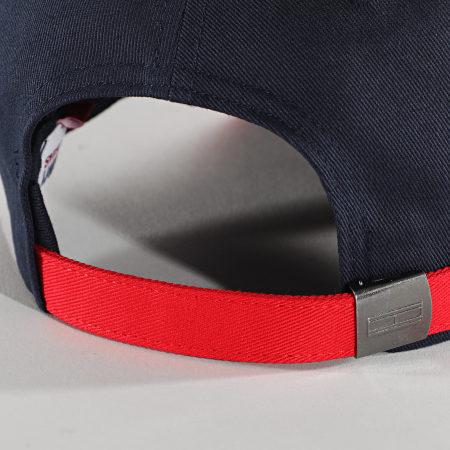 Tommy Jeans - Casquette Flag Cap 6269 Bleu Marine