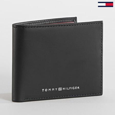 Tommy Hilfiger - Porte-cartes Seasonal Mini CC Bleu Marine