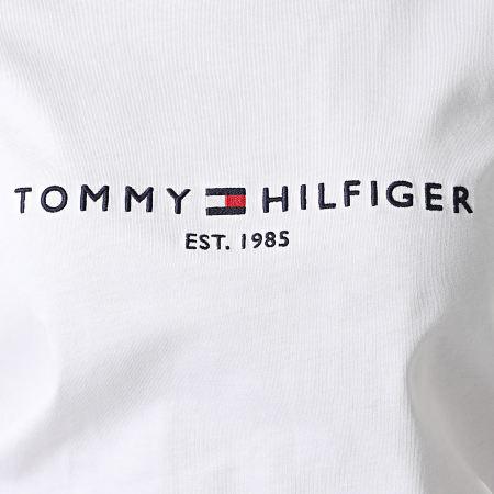Tommy Hilfiger - Tee Shirt Femme Essential 8681 Blanc