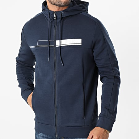 BOSS By Hugo Boss - Sweat Zippé Capuche Saggy 1 50441233 Bleu Marine