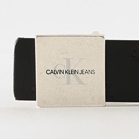 Calvin Klein - Ceinture Réversible Square Plaque 6429 Noir