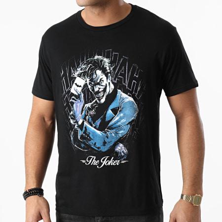 DC Comics - Tee Shirt The Joker MEBATMBTS121 Noir