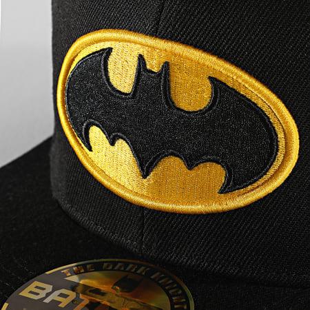 DC Comics - Casquette Snapback Batman Noir Jaune