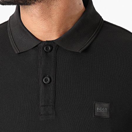 BOSS By Hugo Boss - Polo Manches Courtes Prime 50378365 Noir