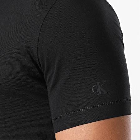 Calvin Klein Jeans - Tee Shirt Archive Logo 6477 Noir