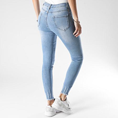 Girls Only - Jean Skinny Femme A1096 Bleu Denim