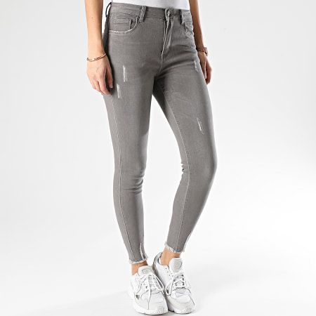 Girls Only - Jean Skinny Femme A1090 Gris
