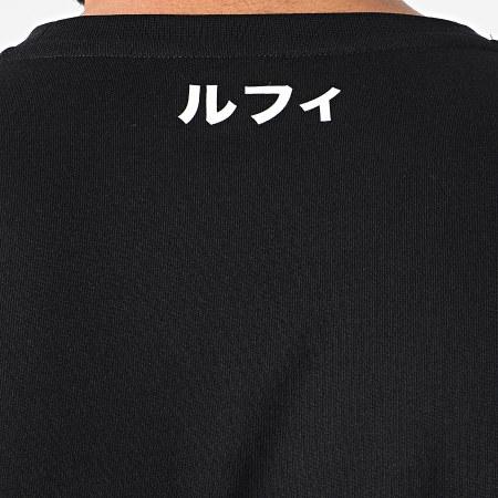 One Piece - Tee Shirt Selfie Luffy Front Noir