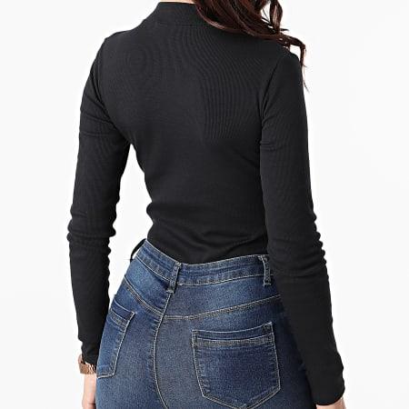 Calvin Klein Jeans - Body Femme Manches Longues 5945 Noir