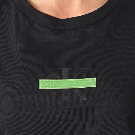 Calvin Klein Jeans - Tee Shirt Femme 6546 Noir