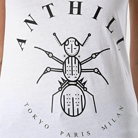 Anthill - Débardeur Femme Logo Blanc