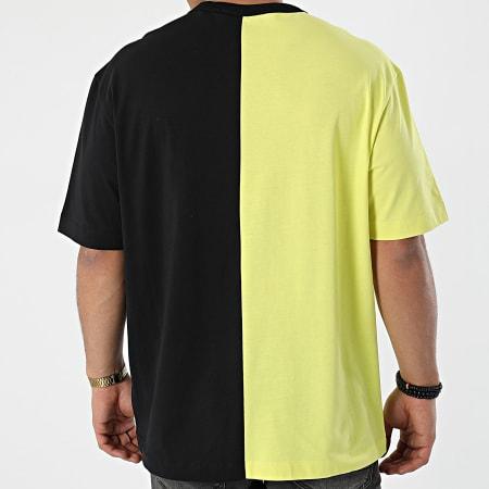 Calvin Klein Jeans - Tee Shirt 8485 Noir Jaune